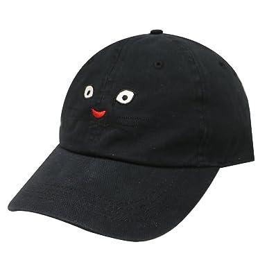 917b1732 City Hunter C104 Cat Face Cotton Baseball Caps 18 Colors (Black) at ...