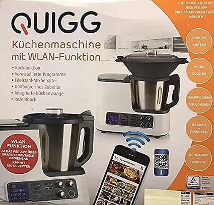 De Quigg – Robot de cocina – con – WiFi – Función incl.