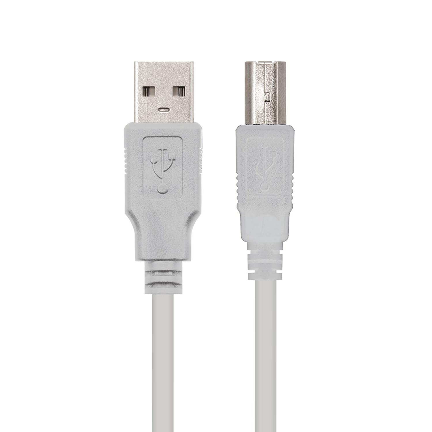 Amazon.com: Cable USB 2.0 para IMPRESORA A-B 1,8M: Computers ...