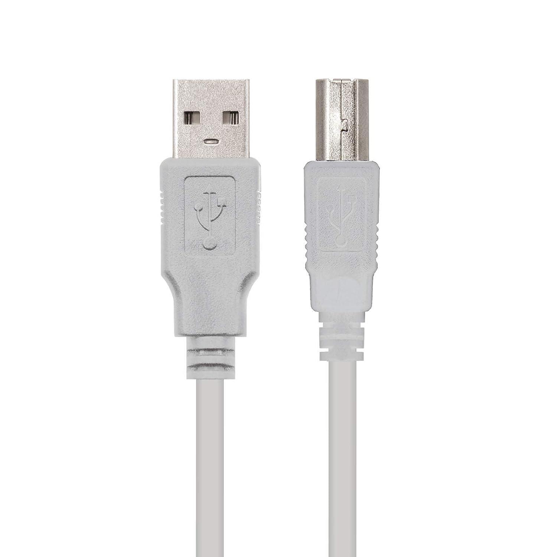 Amazon.com: Cable USB 2.0 para IMPRESORA A-B 1,8M: Computers ...