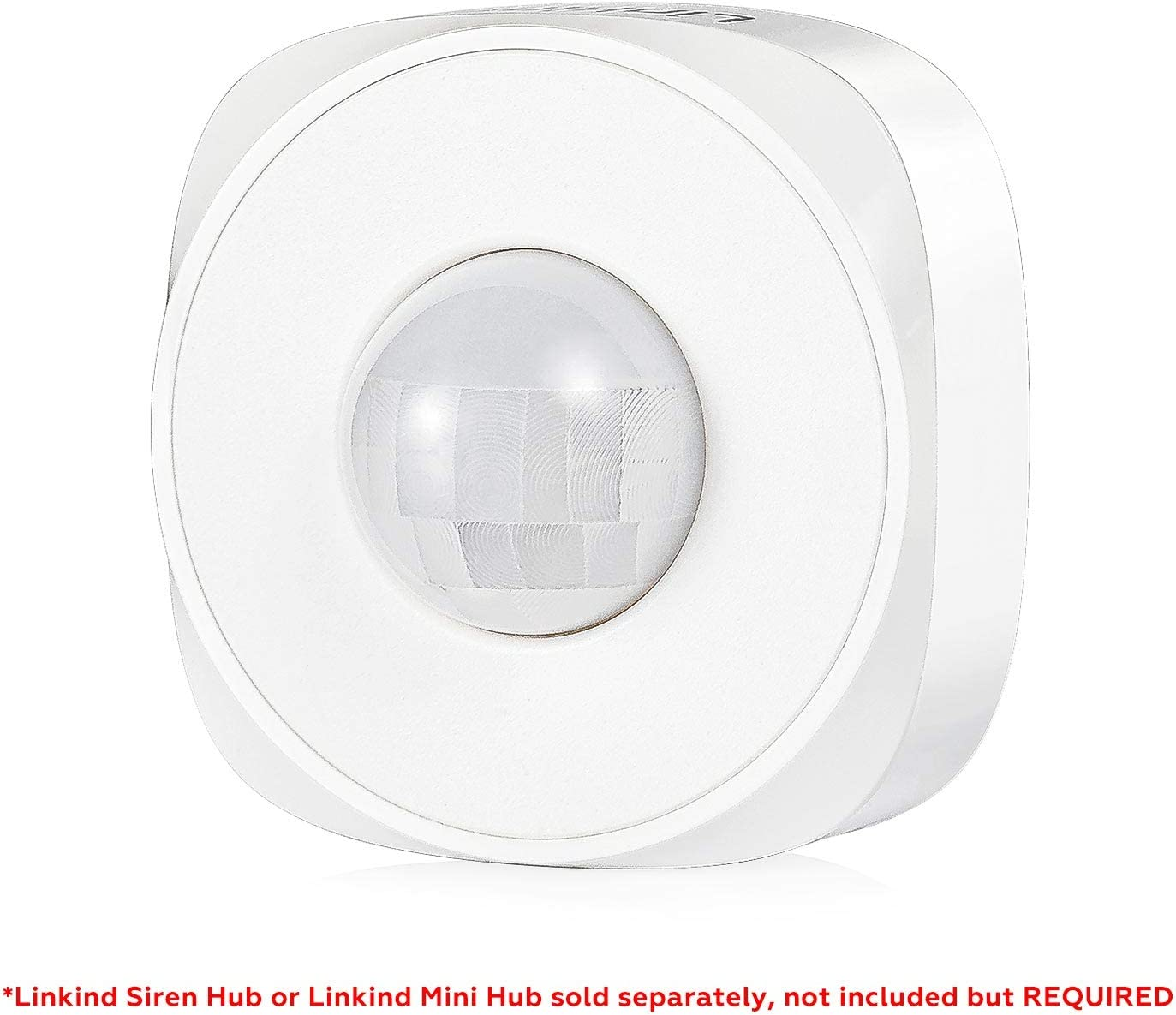 Linkind PIR Motion Sensor, Wireless Motion Detector, Zigbee-White, for DIY Use with Linkind Home Security System, Automation with Linkind Smart Zigbee LED Lights, LINKIND Hub Required (NOT Included)
