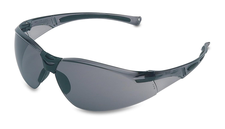 Honeywell 1015368 A800 Sporty Safety Eyewear Frame with TSR Anti-Scratch Lens - Grey