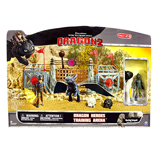 How to Train Your Dragon 2 Playset Dragon Heroes Training Ar