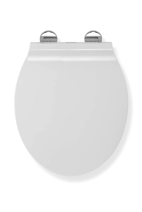 Brilliant Croydex Wl601622H Flexi Fix Michigan Slim Line Always Fits Never Slips Slow Close Toilet Seat White 42 5 X 37 X 5 Cm Frankydiablos Diy Chair Ideas Frankydiabloscom
