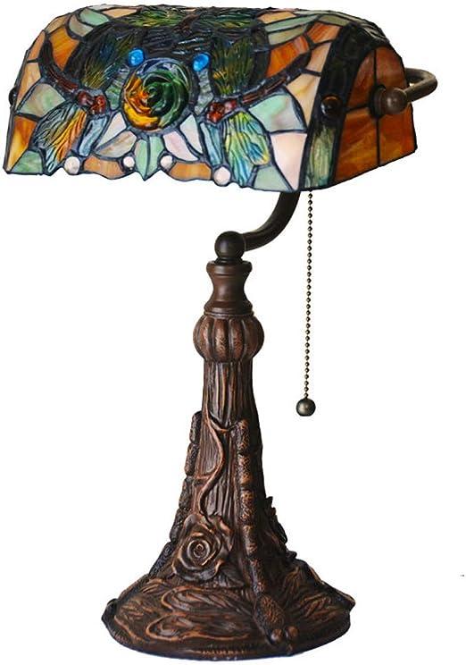 Lámpara de mesa victoriana de estilo Tiffany Lámpara de mesa alta ...