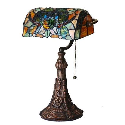 Lámpara de mesa victoriana de estilo Tiffany Lámpara de mesa ...