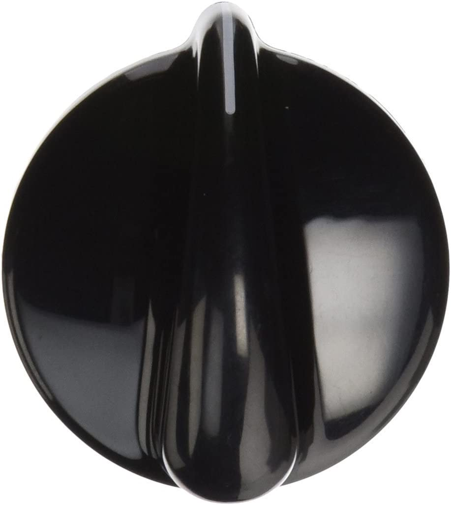 Lifetime Appliance WB03T10236 Control Knob for General Electric Dryer (Black)