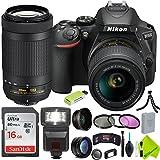 Nikon D5600 DSLR Camera with Nikon 18-55mm f/3.5-5.6G Lens and Nikon 70-300mm Lens 2 Lenses Bundle