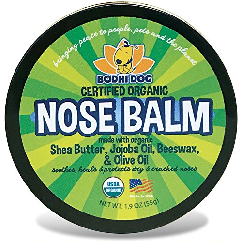 Bodhi Dog Organic Nose Balm for Dogs & Cats | All Natural Soothing & Healing for Dry Cracking Rough Pet Skin | Protect & Restore Cracked and Chapped Dog (Natures Best Puppy Food)
