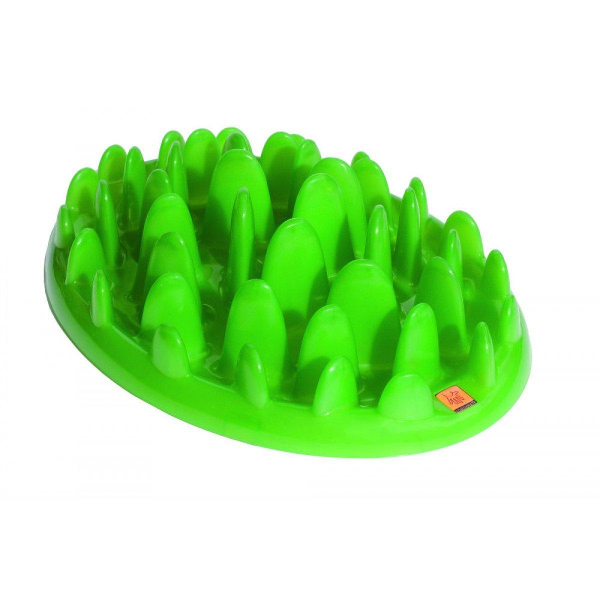 The Company of Animals - Northmate Interactive Feeder - Slow Feed Dog Bowl - Mini, Green