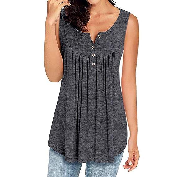 Amazon com: Zackate Womens Spring Sleeveless V Neck Solid