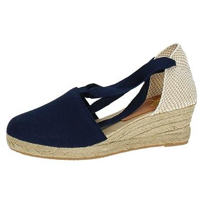 TORRES Valenciana VALENCIANAS DE Lona Mujer Alpargatas: Amazon.es: Zapatos y complementos