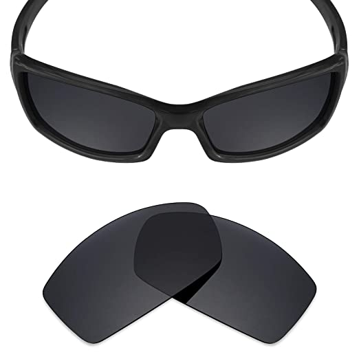 4f7a4358a45 Mryok Polarized Replacement Lenses for Revo Red Point RE4039 - Stealth Black