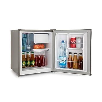 Klarstein Snoopy Eco Mini Réfrigérateur Avec Congélateur Capacité De 46l Compartiment Congélateur 4l 41db économe En électricité Gris