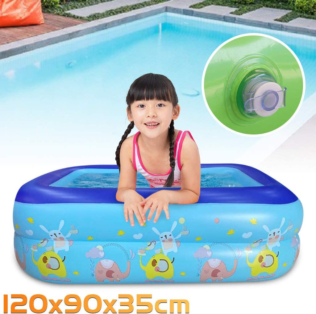 Amazon Com Whaeoskh Small Inflatable Swimming Pool Kids Water Play Fun For One Child Electronics