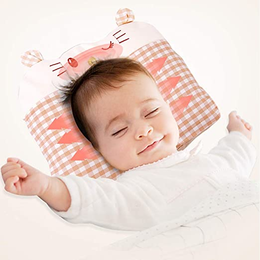 MUYOS - Almohada para bebé de algodón Suave, para recién ...