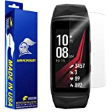 Samsung Gear Fit 2 Pro Screen Protector [2 Pack], Armorsuit MilitaryShield Lifetime Anti-Bubble [2 Pack] Screen Protector for Samsung Gear Fit 2 Pro