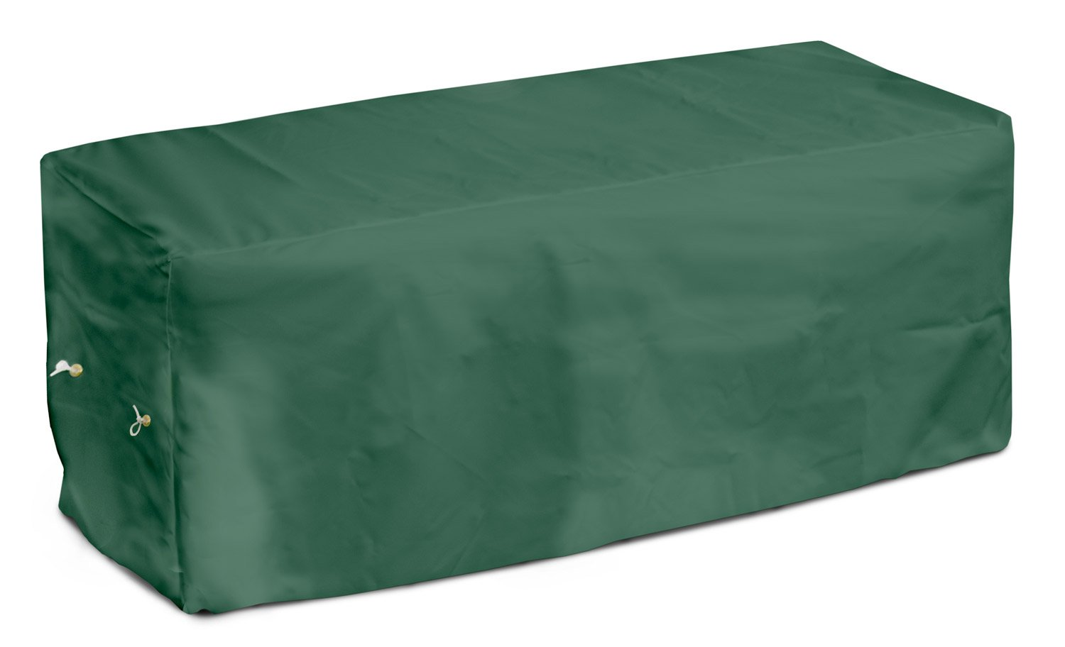 KoverRoos Weathermax 64207 8-Feet Bench Cover, 96-Inch Width by 25-Inch Diameter by 36-Inch Height, Forest Green