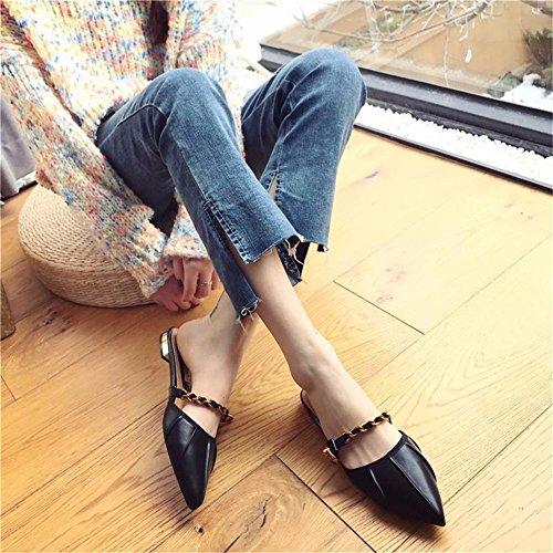 Sandales pour YUCH Femmes Slacker black Chaussons tUqvxqH