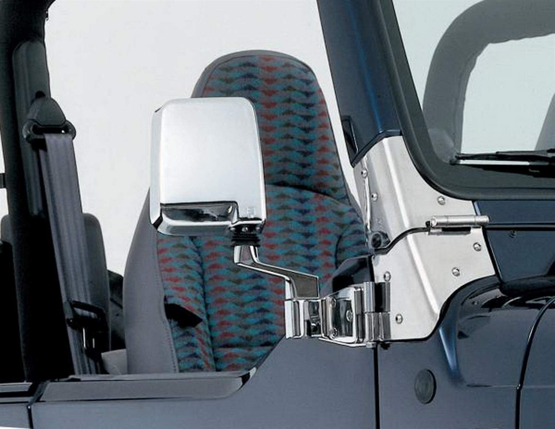 Smittybilt 7504 Side Mirror Kit Fits 87-06 TJ Wrangler