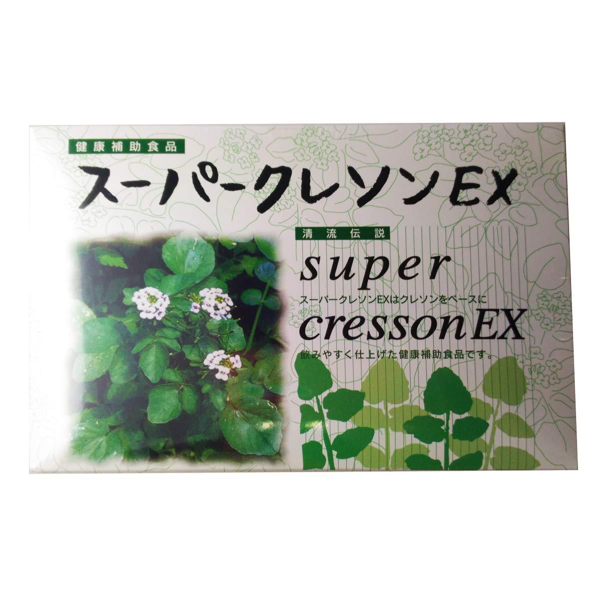スーパークレソンEX 1.5g×60袋 お得な4個セット B008F5LT84 4