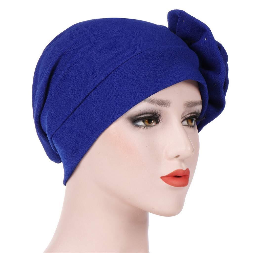 Chirpa Women's Fashion Head Wrap Hijab Cancer Turban Chemo Hat Beanie Flower