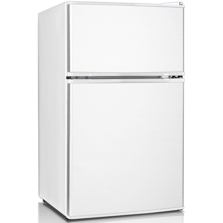 Keystone KSTRC312CW Compact 2-Door Refrigerator/Freezer, 3.1 Cubic Feet, White