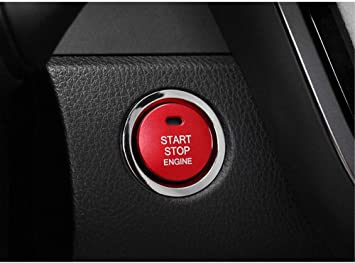 Engine Start Stop Ignition Switch Push Button Cover fit for Toyota CHR 2018 2019