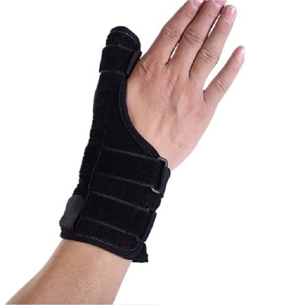 Wrist Support Brace With Thumb Spica Hand Support Thumb Support- Universal Size Breathable Sports Medicine Thumb Stabilizer Fit for Both Hands