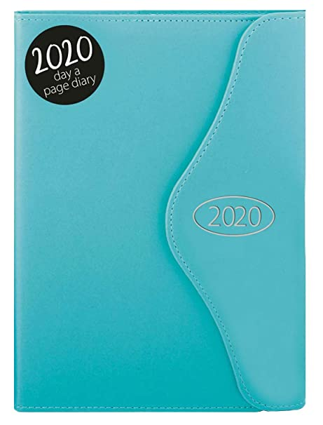 2018 A5 Day to Page Leatherette Organiser Appointment Monthly index Office Diary