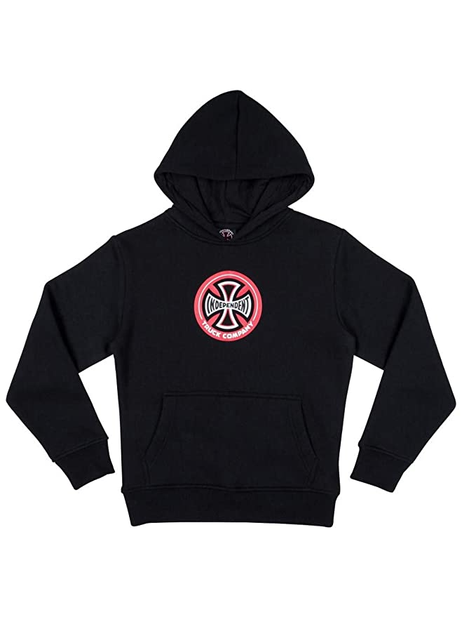 Independent Sudadera con Capucha Infantil Hollow Cross Negro: Amazon.es: Ropa y accesorios