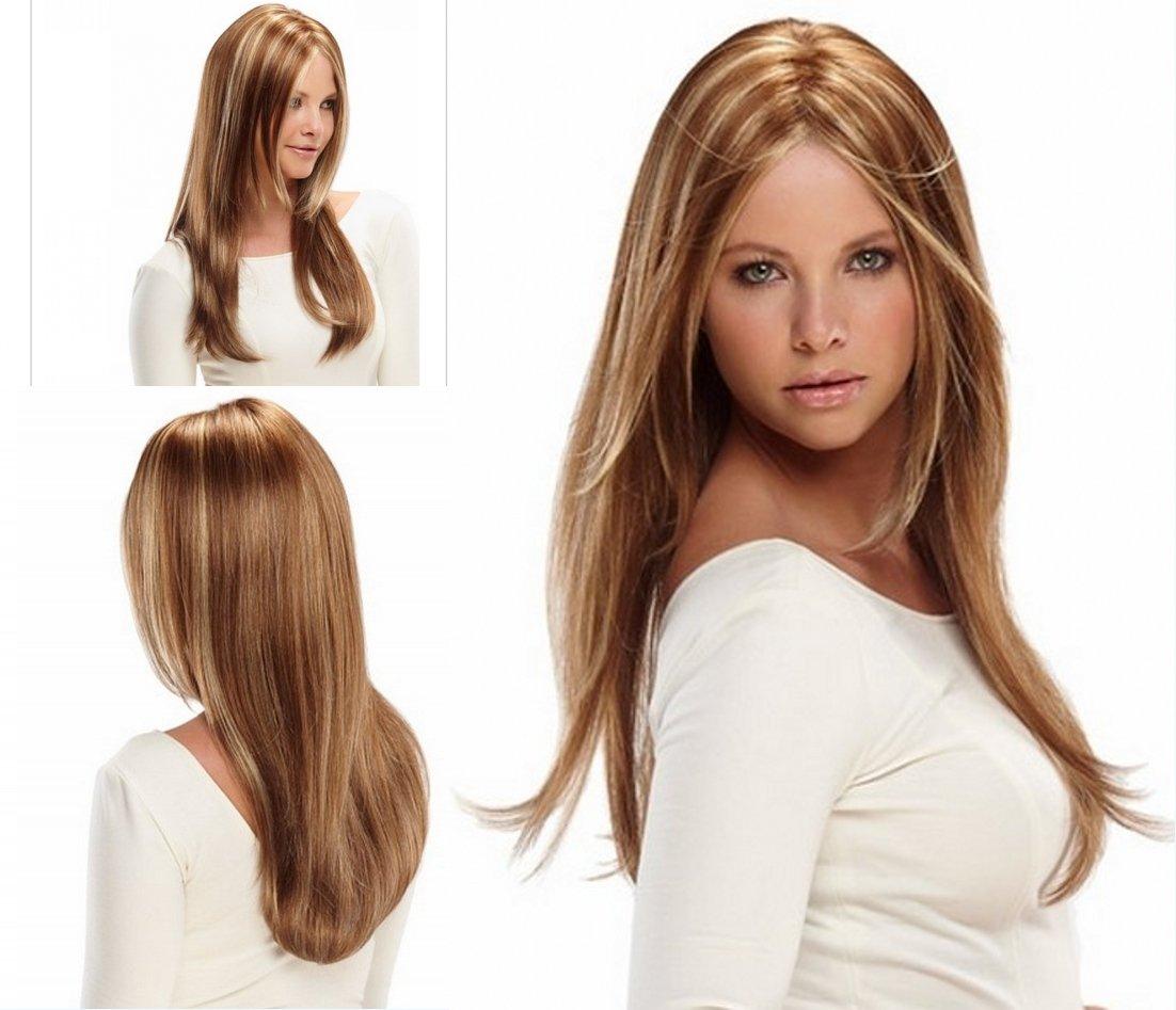 SONGYUNYANPerruque Femme, Matt, Cheveux Longs, Cheveux Longs, Fil synthétique Haute température, Fille, Femme Perruque