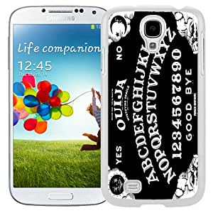 Hot Sale And Popular Samsung Galaxy S4 I9500 Case Designed With White Ouija Board White Samsung Galaxy S4 Phone Case