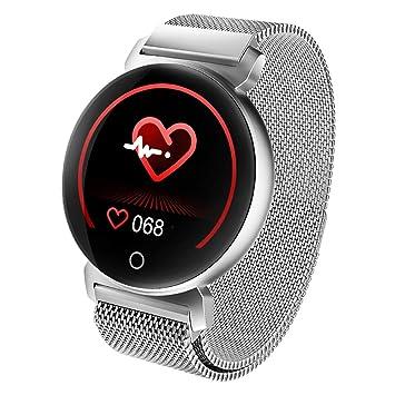 DUDUZUI Reloj Inteligente Hombre Mujer, Monitores De Actividad con Pulsómetros,Presión Arterial,Monitor De Sueño,Podómetro,Contador De ...