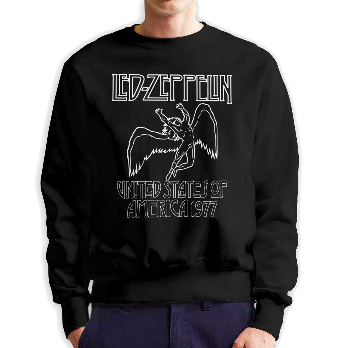 Clfheruifdfjn Led Zeppelin – Swan Song Crewneck Sweatshirt, Man Hoodie Sweatshirt Pullover