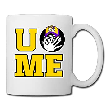 Amazon.com: SonwAndIce- John Cena U Cant See Me Coffee Mug 11 OZ ...