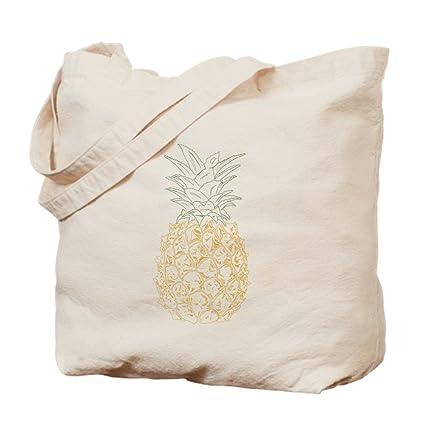 7b091c7d719 Amazon.com  CafePress - Pineapple - Natural Canvas Tote Bag