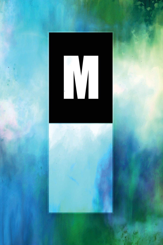 "Read Online Monogram ""M"" Notebook: Blank Journal Diary Memoir Log Logue (Tropo One 150 Lined) (Volume 13) ebook"