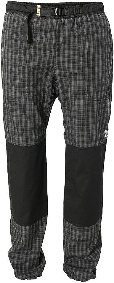 REJOICE® Moth - Pantalones de Escalada para Hombre y Mujer (Unisex) con cuadritos para Boulder, Escalada, Trekking, Senderismo etc