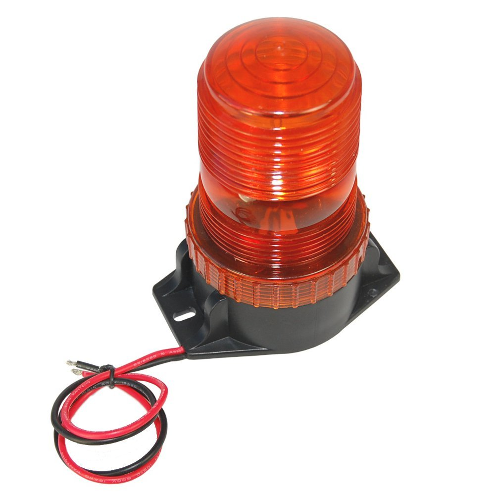 Hqrp Mini Beacon Amber Strobe Light For Electric Rider Yale Forklift Coil Wiring Diagram 12v Erc030 040va Erc045 070vg Erc070 120hh Erp030 040vf 040vt