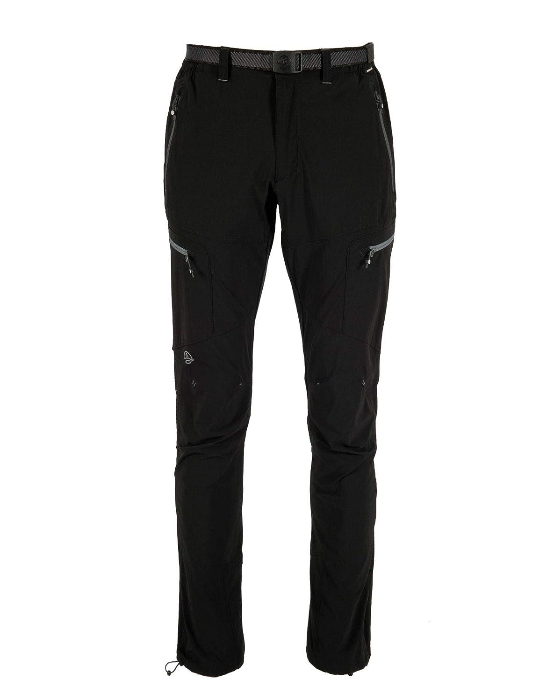 noir XXL Ternua Sabah Pant M - Pantalon randonnée Homme