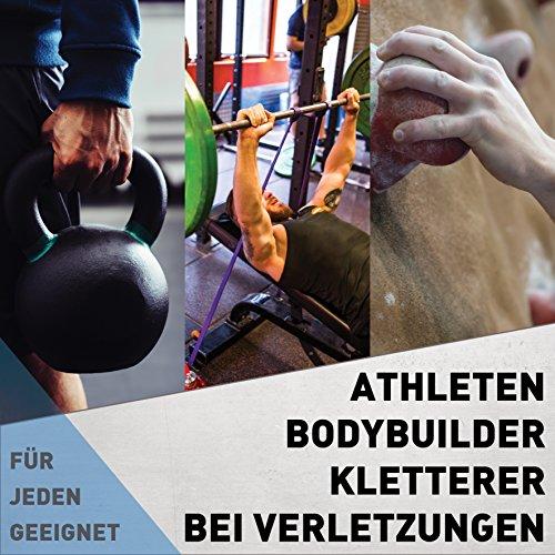 Pesas de entrenamiento para dedos, manos, antebrazos, agarre de mano para mejora máxima de la fuerza de agarre para dedos, manos y antebrazos duros como el ...