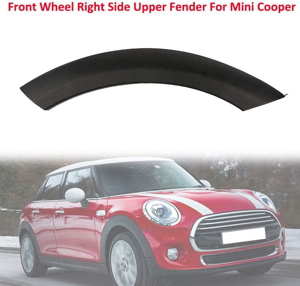 TXYFYP Wheel arch trim For Mini Cooper,Car Auto Front Wheel Right Side Arch Trim Fender on Hood For MINI Cooper 51131505866,51131505864,51131505865,51131505867