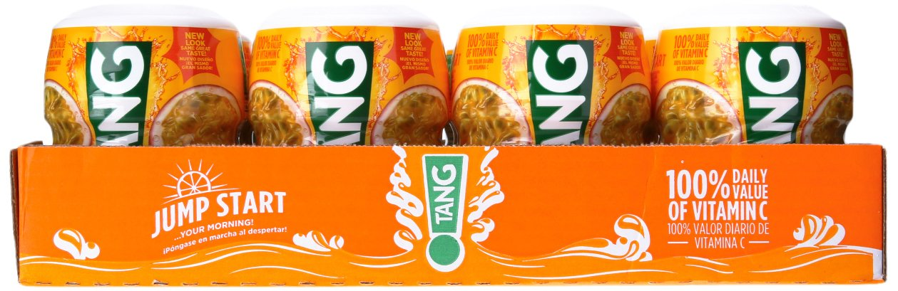 Amazon.com : Tang Powdered Drink Mix, Passion fruit, 18.0 Ounce (Pack of 12) : Grocery & Gourmet Food