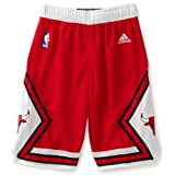 Chicago Bulls Youth Red Swingman Shorts by Adidas Select Youth Size: Medium - 10/12