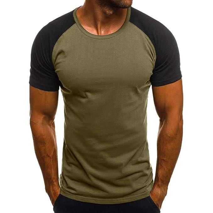 hot sale online ff3a2 b0690 Weant Uomo Maglietta Eleganti Uomini Camuffare Tee Shirt ...