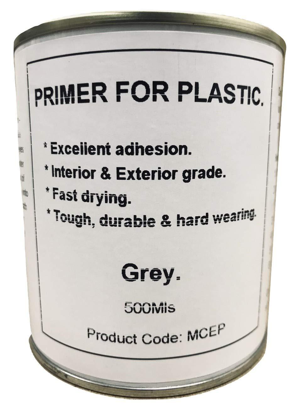 1 x 500ml Light Grey Plastic Primer Paint GRP Fiberglass Boat Caravan Contiboard Fascinating Finishes Ltd