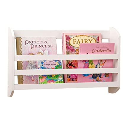 Newspaper Shelves Simple Wall Hanging Magazine Rack Bookcase Childrens Bookshelf Storage Shelf