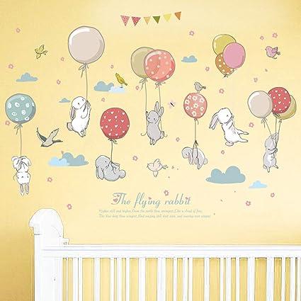 amazon com 1 pack rabbit balloon children bedroom living room