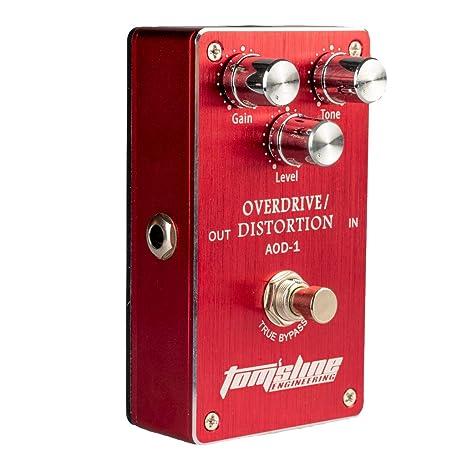 Homyl 1 x Pedal de Efectos para Guitarra Eléctrica Analógicos True ...